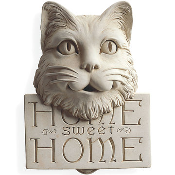 HOME SWEET HOME KITTY PLAQUE *DS*
