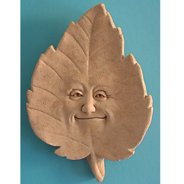 LINDEN B. LEAF PLAQUE *DS