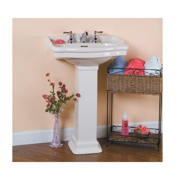 Barclay Small Victorian Pedestal Lavatory