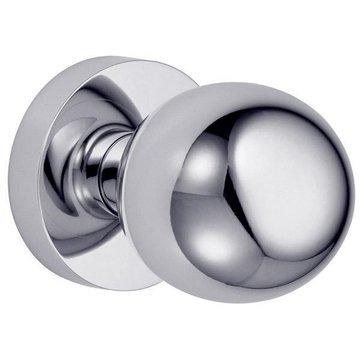 CONTEMPORARY 2 3/4 PRIVACY BALL KNOB DOOR SET