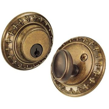 ST CHARLES SINGLE CYLINDER DEADBOLT