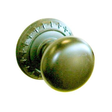 ST CHARLES 2 3/8 PRIVACY DOOR SET WITH ROUND KNOB