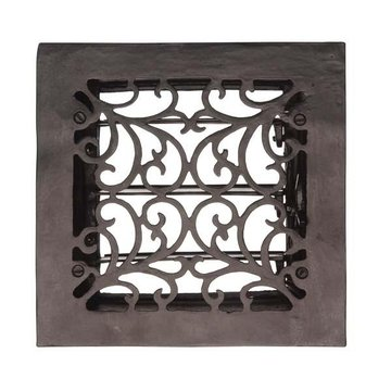 FRC25 9 3/4 SQ CAST IRON REGISTER