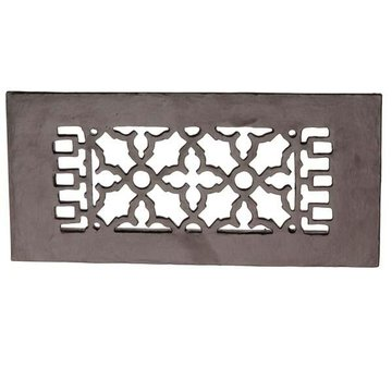 Restorers Rectangular Cast Iron Floor Grille
