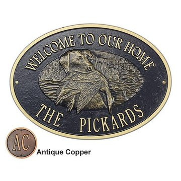 WILDLIFE PERSONALIZED PLAQUE