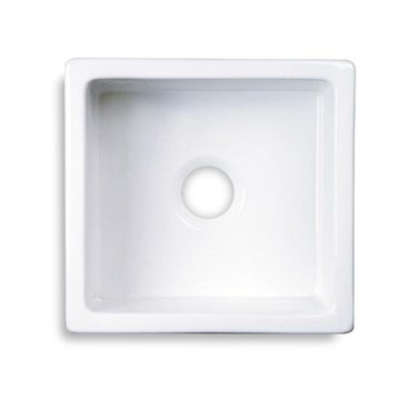 WHITE FIRE CLAY SINK 18 3/4 X 17 3/4 *DS*UPS