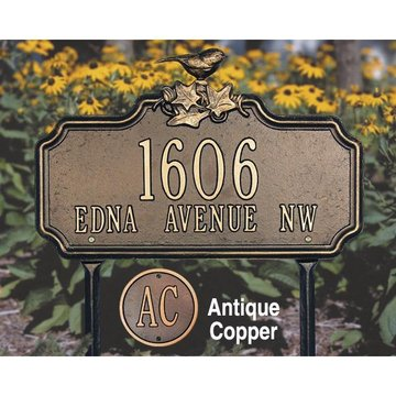 1 Or 2 Line Personalized Lawn  And Garden Plaque
