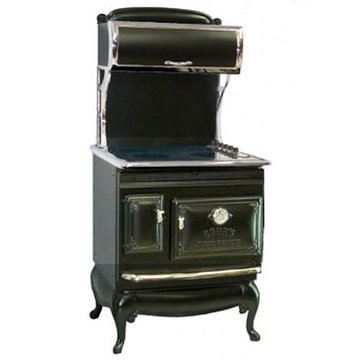 1850 ANTIQUE ELECTRIC RANGE WITH CAST ELEMENTS