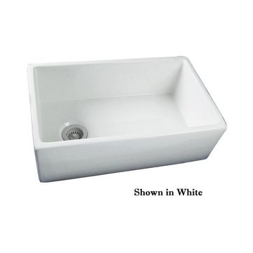 30 OFFSET DRAIN FARMHOUSE FIRECLAY SINK