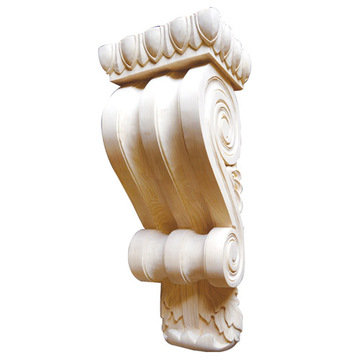 Legacy Signature 23 1/4 Inch Scroll Corbel With Egg And Dart