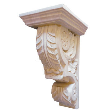Legacy Signature 14 1/4 Inch Ornate Leaf Corbel