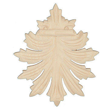 Legacy Artisan 4 3/16 Inch Leaf Applique