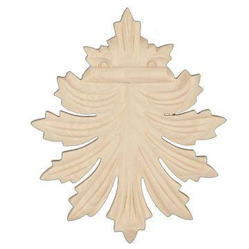 Legacy Artisan 4 3/16 Inch Leaf Applique