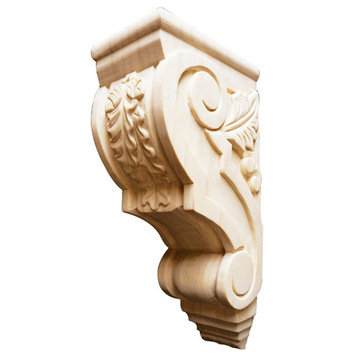 Legacy Signature 8 Inch Acorn And Leaf Corbel