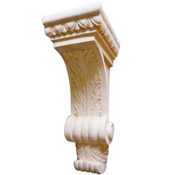 Legacy Signature 16 1/4 Inch Leaf Corbel With Egg And Dart