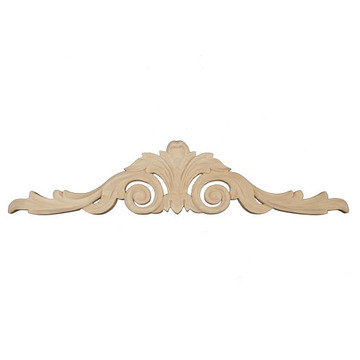Legacy Artisan 19 3/4 Inch Scroll And Leaf Applique