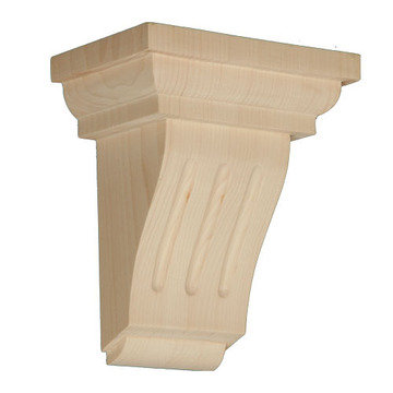 Legacy Artisan 8 Inch Mission Fluted Corbel