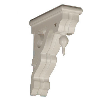 Legacy Signature Heavy-Duty Victorian Bracket with Finial