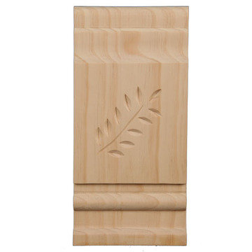 Legacy Artisan Leaf Miterless Trim Corner Head Block