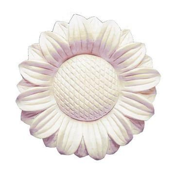 Legacy Artisan 7 1/2 Inch Round Sunflower Applique