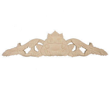 Legacy Artisan 37 Inch Leaf And Medallion Applique