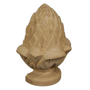 Legacy Artisan Half Pineapple Finial Onlay