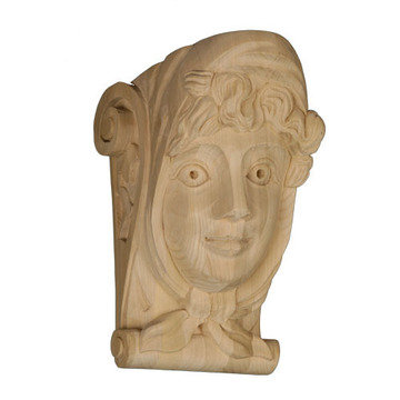 Legacy Artisan 12 1/4 Inch Female With Scarf Corbel