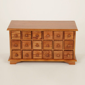 Legacy Artisan 18 Drawer Apothecary Chest