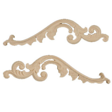 Legacy Artisan 17 5/8 Inch Scroll  And Leaf Applique Pair