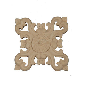 Legacy Artisan 5 3/4 Inch Floral Cross Applique