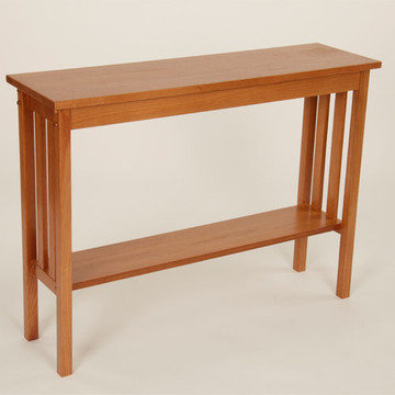 Legacy Artisan Golden Oak Mission Occasional Tables