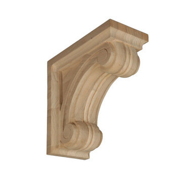 Legacy Artisan 12 Inch Scroll Bracket Corbel