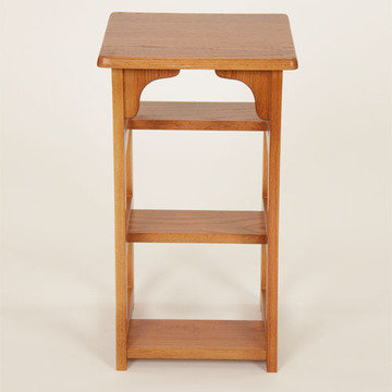 Legacy Artisan Finished Oak Step Stool And Chair