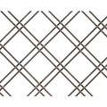 Kent Design 114 1/4F 1 Double Round Flat Crimp Wire Grille - 18 x 24