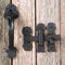 Restorers Gate Latch Set with 7 1/2 Inch Thumblatch Handle