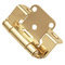Hickory Hardware Semi-Concealed Part Wrap Cabinet Hinge - Pair