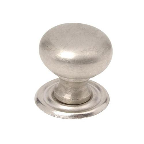 """Restorers 3/4"""" Round Knob with Removable Backplate"""