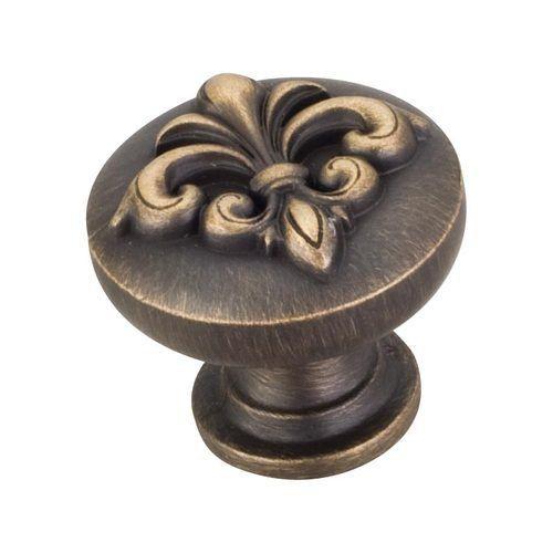 Hardware Resources Lafayette Fleur-De-Lis Cabinet Knob