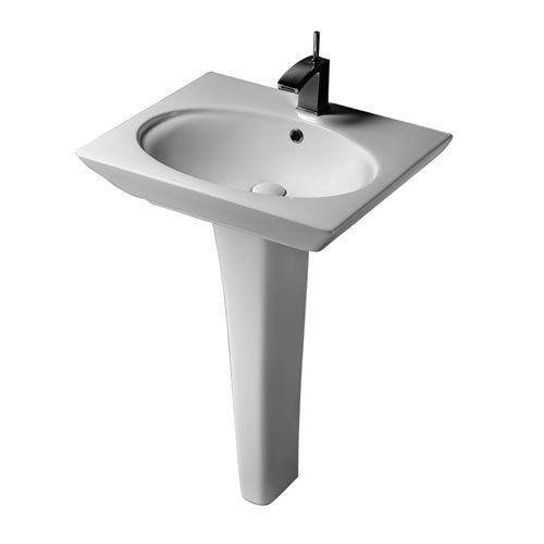 Barclay Opulence Pedestal Lavatory - Rectangular Bowl Van Dyke?s ...