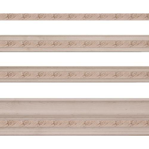Light Rail Molding: Designs Of Distinction Acanthus Light Rail Molding Insert