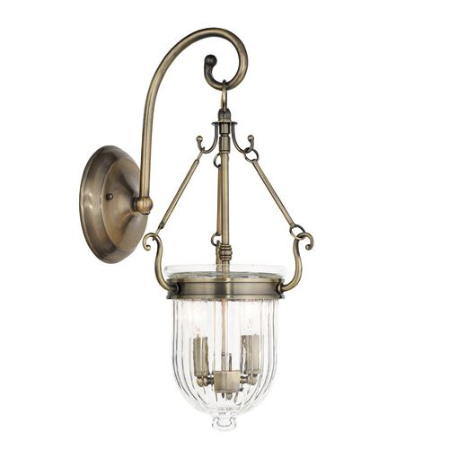 Wall Sconce Hanging Hardware : Livex Lighting Coventry Hanging Wall Sconce Van Dyke s Restorers