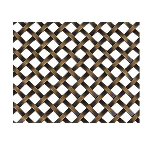 Brass Wire Grille : Kent design s quot flat single crimp wire grille