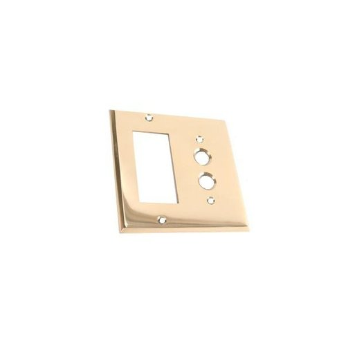 SINGLE PUSHBUTTON WITH GFI OUTLET