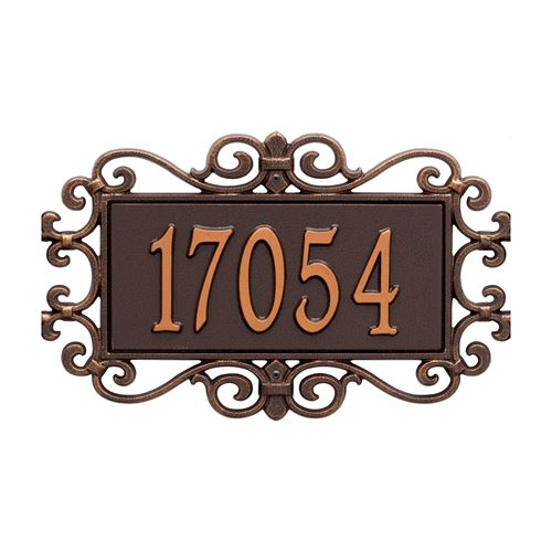 Whitehall Mears Fretwork Personalized Wall Plaque