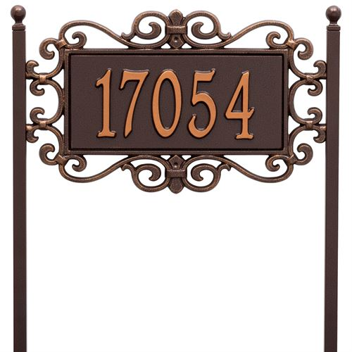 Whitehall Mears Fretwork Personalized Lawn Plaque