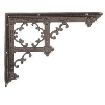 Restorers Eastlake Design Iron Shelf Brackets