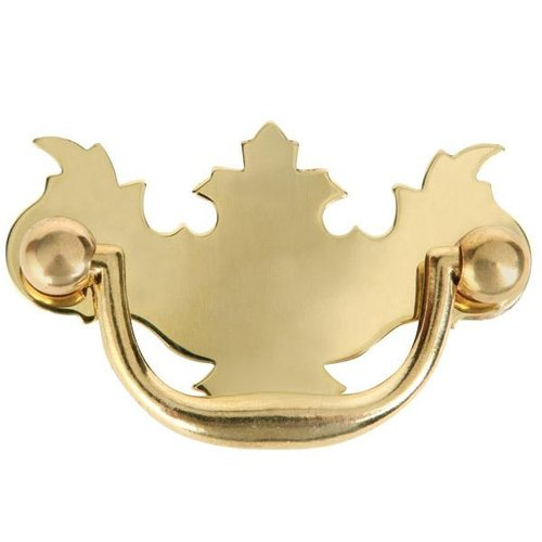 Stamped Brass Chippendale Bail Pull