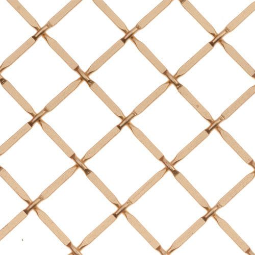 Kent Design 332p 3 4 Round Press Crimp Wire Grille 36 X 48