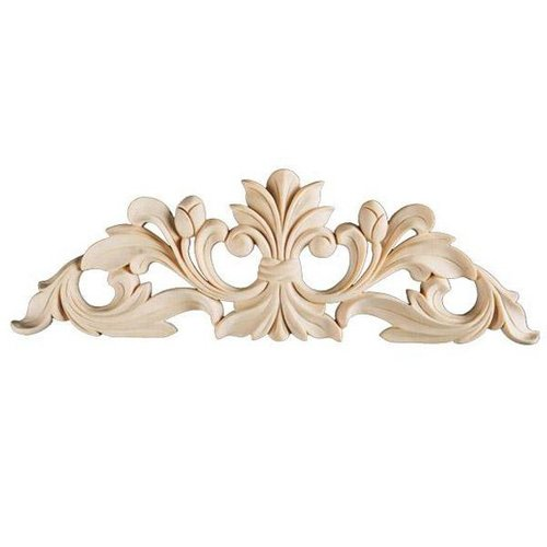 Kitchen Cabinet Appliques: Legacy Signature 36 Inch Leaf And Bud Applique