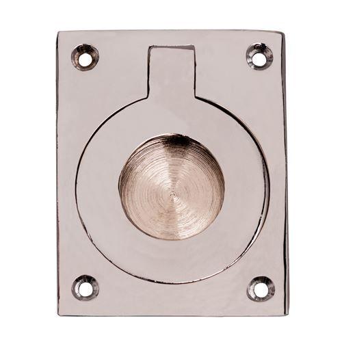 Restorers Brass Recessed Ring Pull